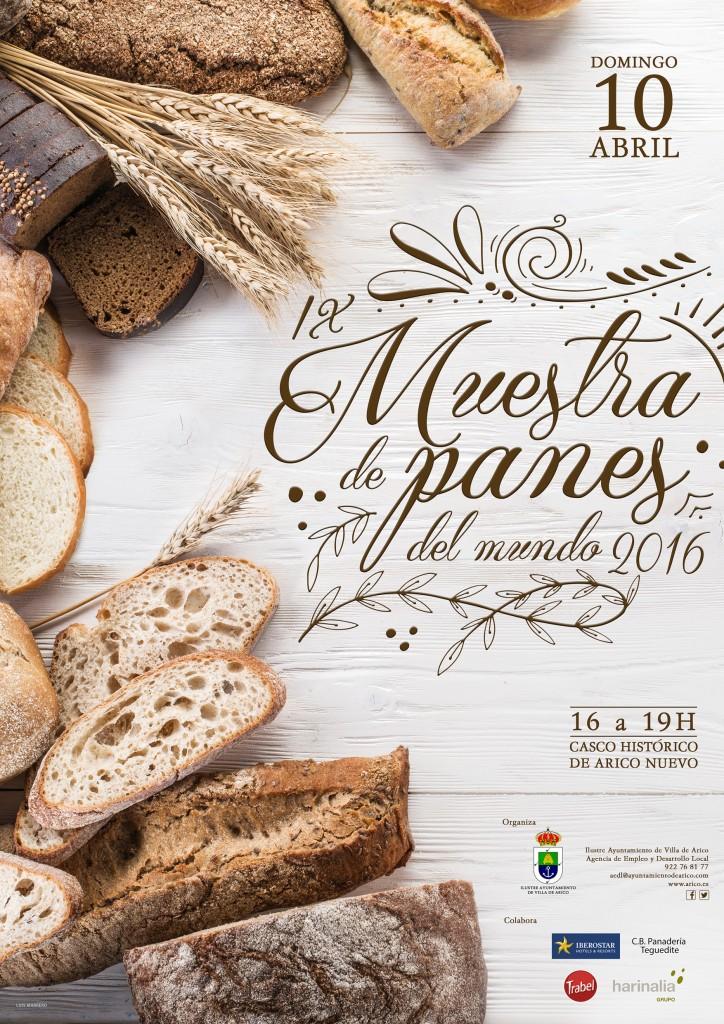 IX MUESTRA DE PANES DEL MUNDO 2016. Villa de Arico. Tenerife