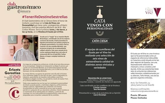 Cata de vinos con personalidad en la vinoteca El Gusto por El Vino