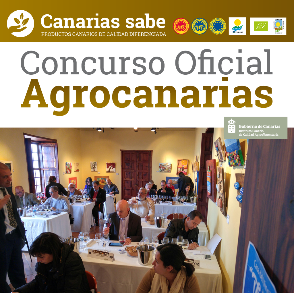 Concurso Oficial de Vinos Agrocanarias 2016.