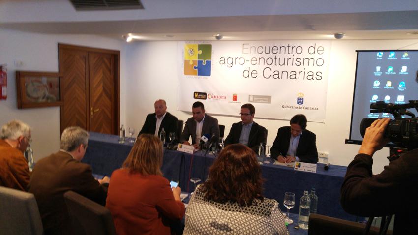 FOTONOTICIA: Inaugurado el I Encuentro de Agro-Enoturismo de Canarias