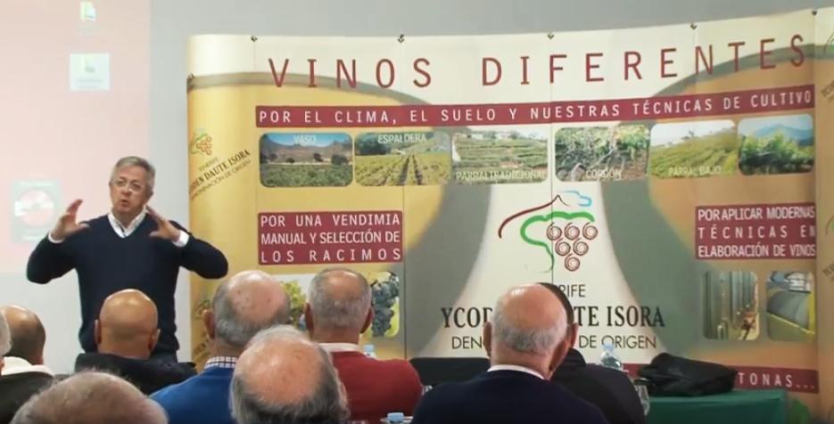 Josep María Pujol imparte un curso sobre viticultura ecológica