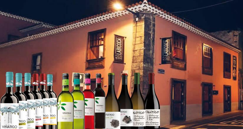 Cata - Maridaje de Bodegas Viñátigo en Labicoca Platos & Copas
