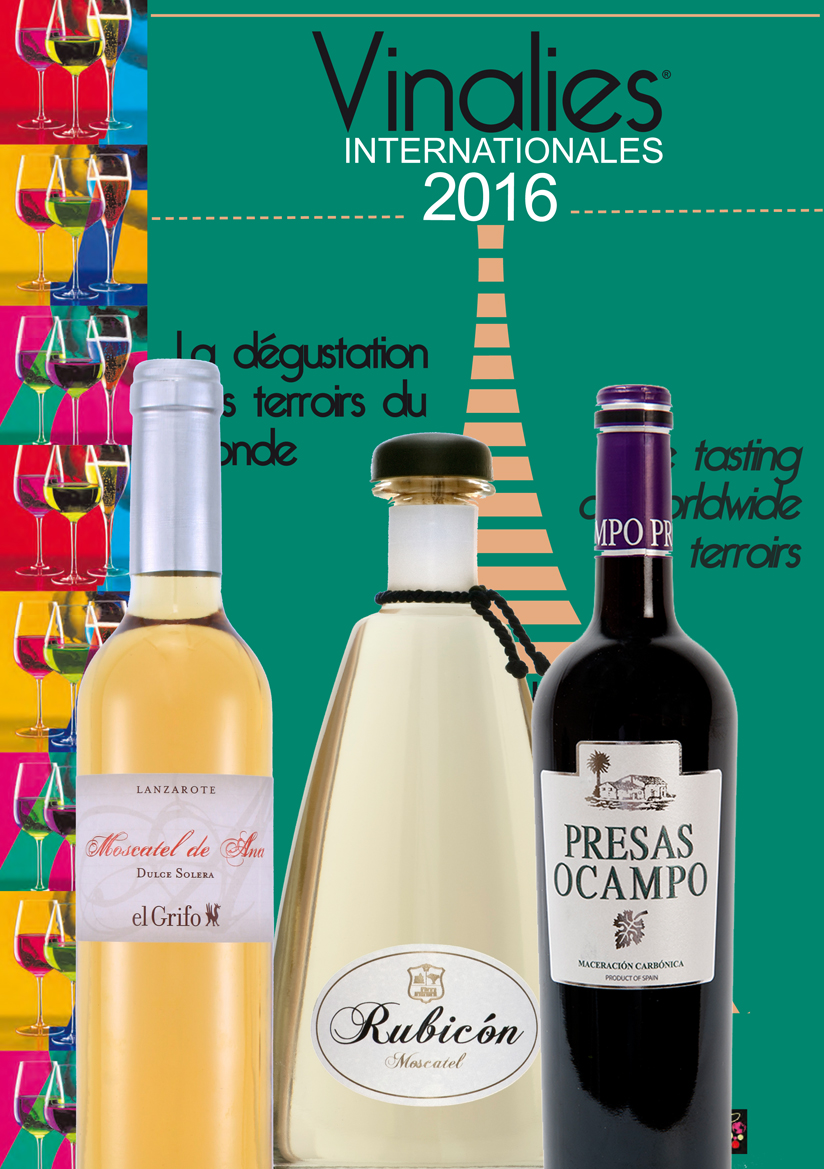 VINOS CANARIOS PREMIADOS EN LOS VINALIES INTERNACIONALES 2016