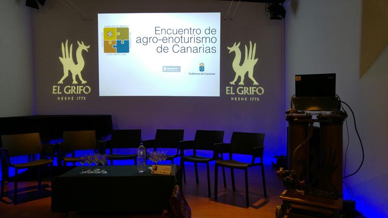 Segunda jornada del I Encuentro de Agro-Enoturismo de Canarias