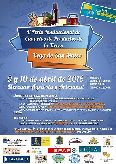 Feria de Productos de la Tierra en San Mateo. Gran Canaria