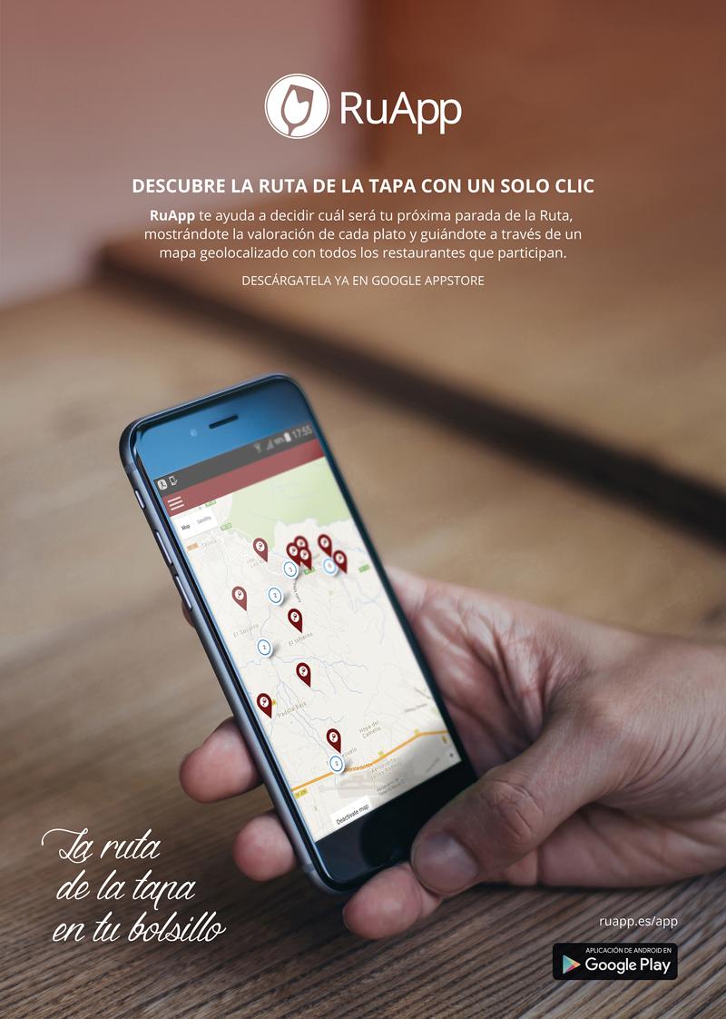 La Ruta de la Tapa y El Vino de Tegueste, en una aplicación