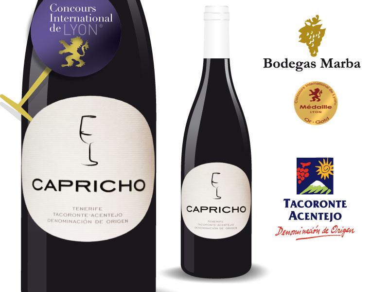 Capricho, de Bodegas Marba sigue conquistando premios