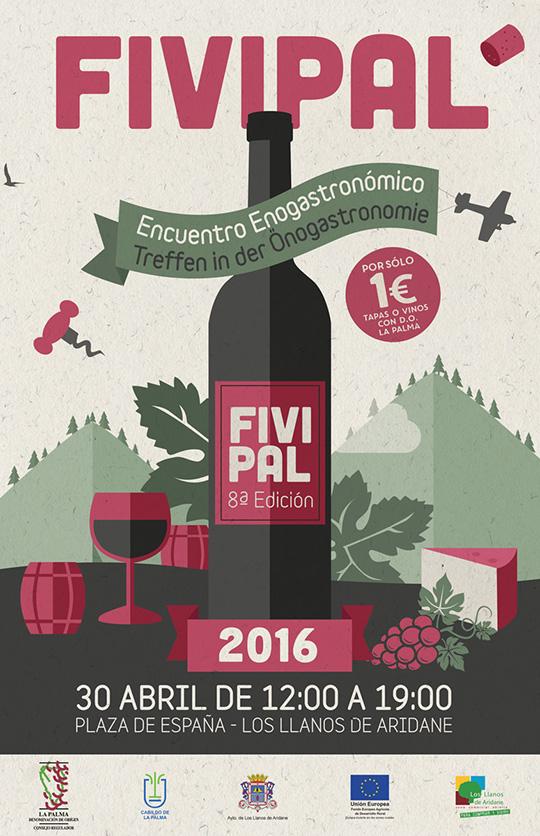 Feria Insular del Vino Palmero (FIVIPAL 2016), el 30 de abril de 2016 en Los Llanos de Aridane
