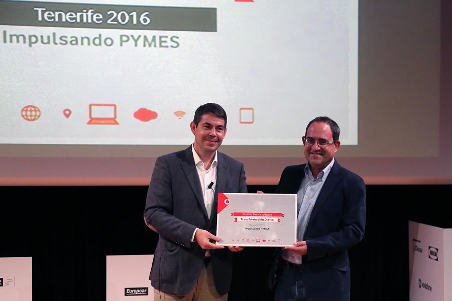 Bodegas Viñátigo, finalista del premio 'Transformación digital',