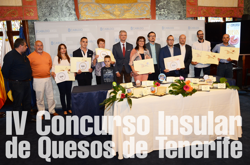 La Quesería Chimiche de Granadilla de Abona galardonada con el Mejor Queso de Tenerife.