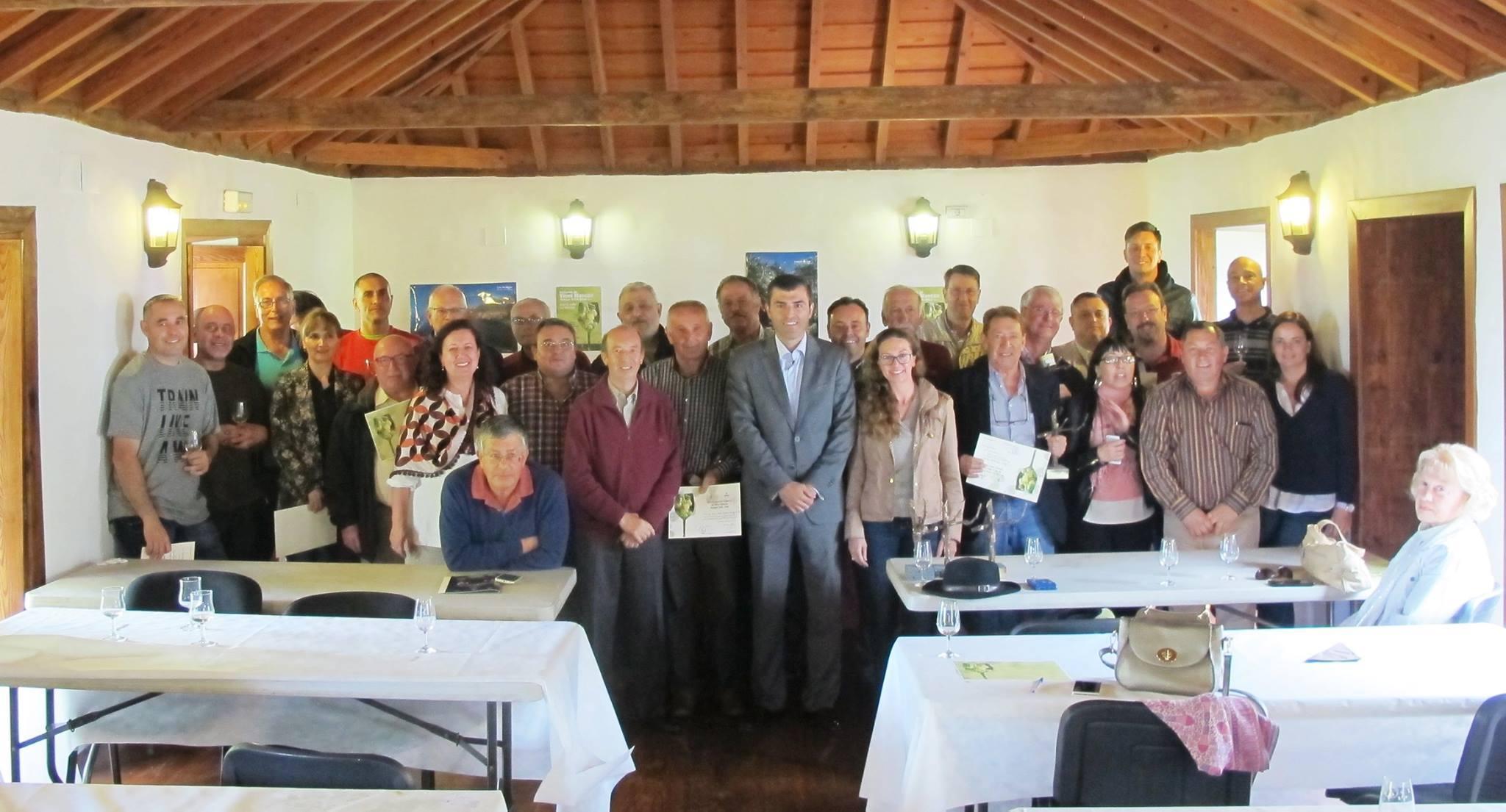 Premios para los vinos blancos de Tenerife. Concurso de Vinos Blancos Manuel Grillo Oliva