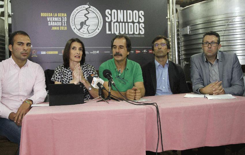 Bodegas La Geria acoge la presentación del Malvasía Volcánica Weekend, la clausura de Sonidos Líquidos 2016