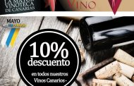 10% de descuento en todos los vinos canarios