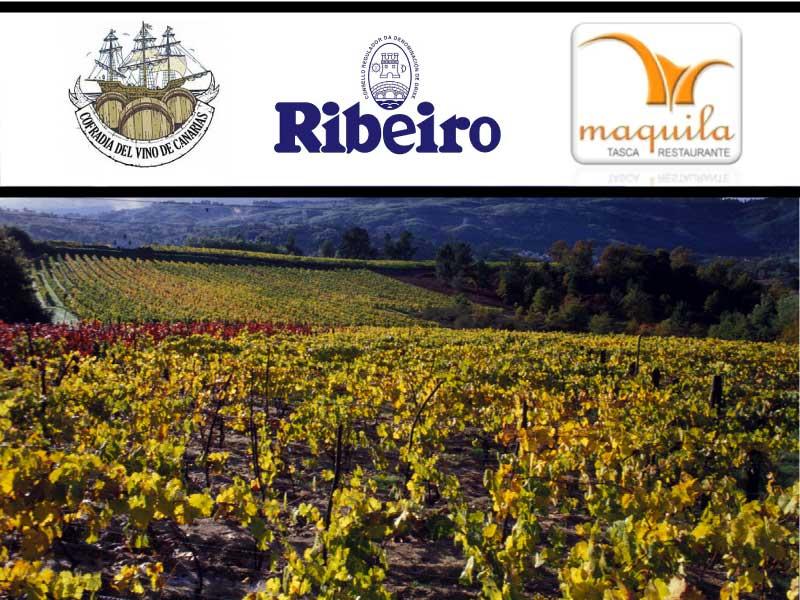 Descubrir los Ribeiro en Casa Maquila con la Cofradía del Vino de Canarias