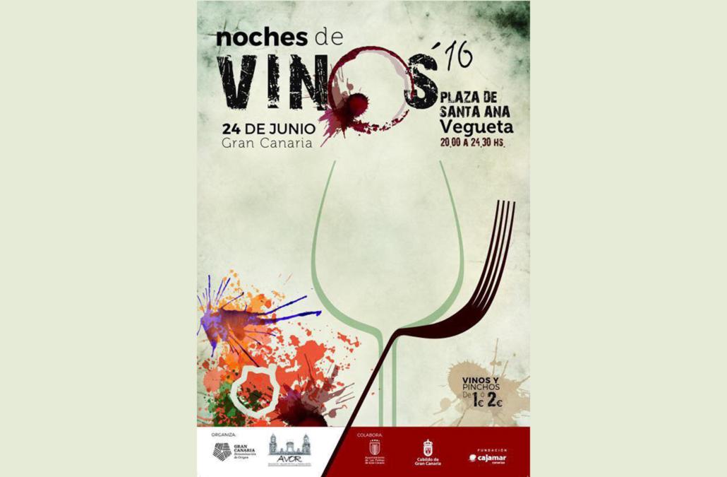 Noche de Vinos de la D.O. Gran Canaria en Vegueta, el 24 de junio de 2016