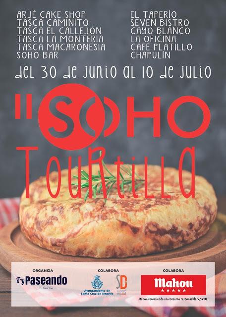 #SOHOTOURtilll cuaja Santa Cruz de Tenerife del 30 de junio al 10 de julio