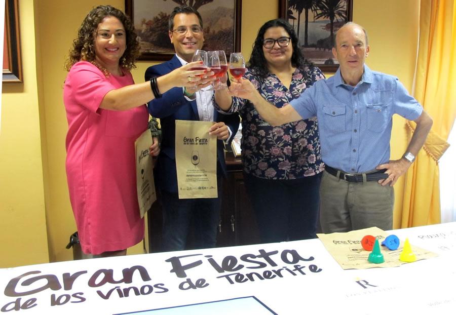 Gran Fiesta de los Vinos de Tenerife en El Socorro. Sábado 17 de septiembre de 2016