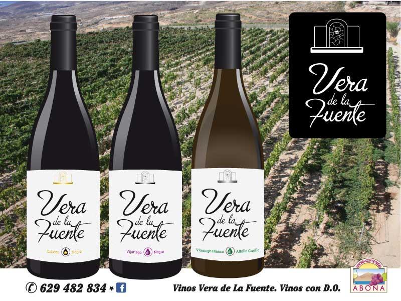 Vera de la Fuente cambia su imagen en su gama de varietales.