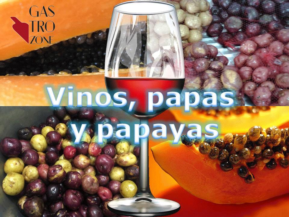 Vinos, papas y papayas. Nuevo evento del Club del Vino La Laguna en GastroZone