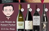 Vinos calificados por Robert Parker en la Vinoteca el Gusto Por El Vino