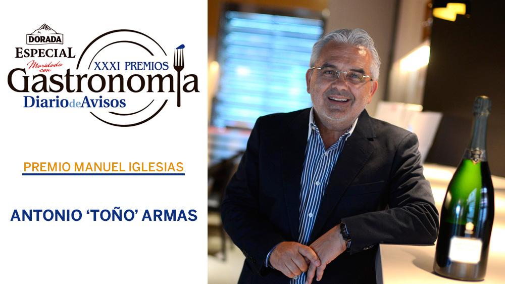 XXXI edición de los Premios de Gastronomía DIARIO DE AVISOS-Dorada Especial