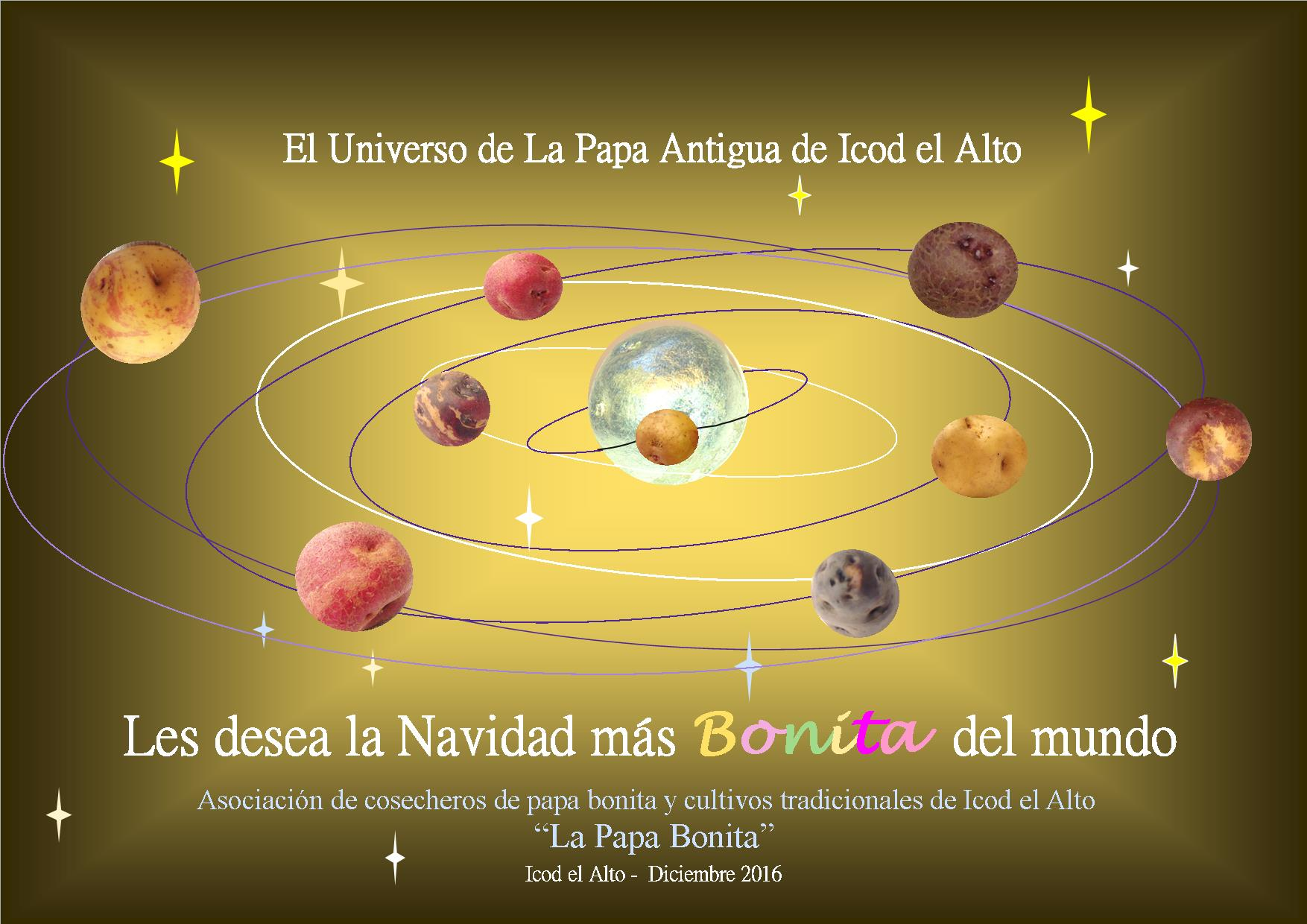 Felicitación planetaria
