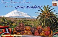 Papas Antiguas de Canarias les desea Feliz Navidad