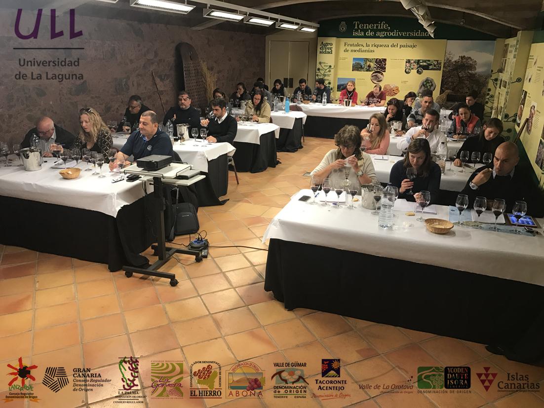 La ULL acoge a todas las D.O.P. de vinos de Canarias