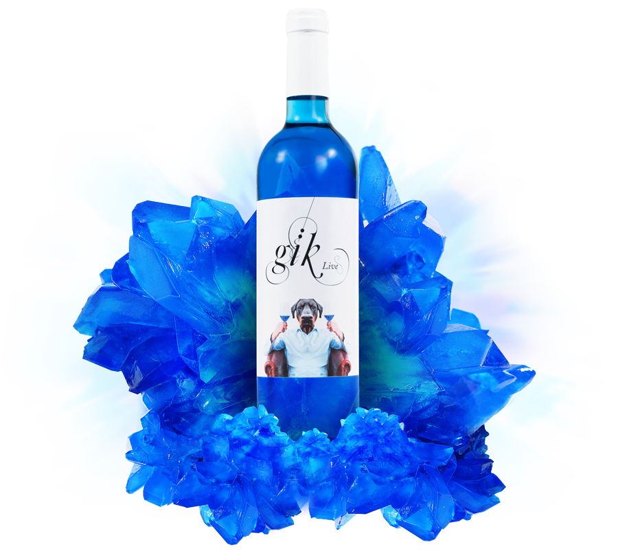 Azul ya no es color de vino