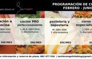 Cursos de formación 2017 en el Espacio Culinario de Santi Evangelista