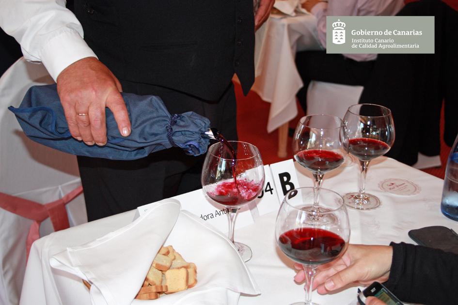 Concurso Oficial de Vinos Agrocanarias 2017