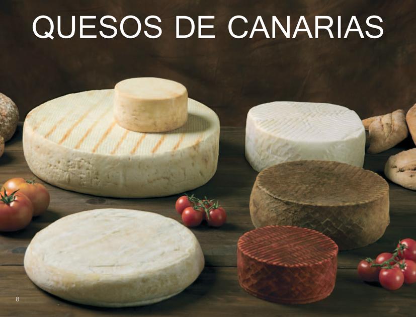 Los quesos canarios