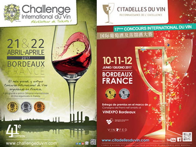 Concursos internacionales de vinos