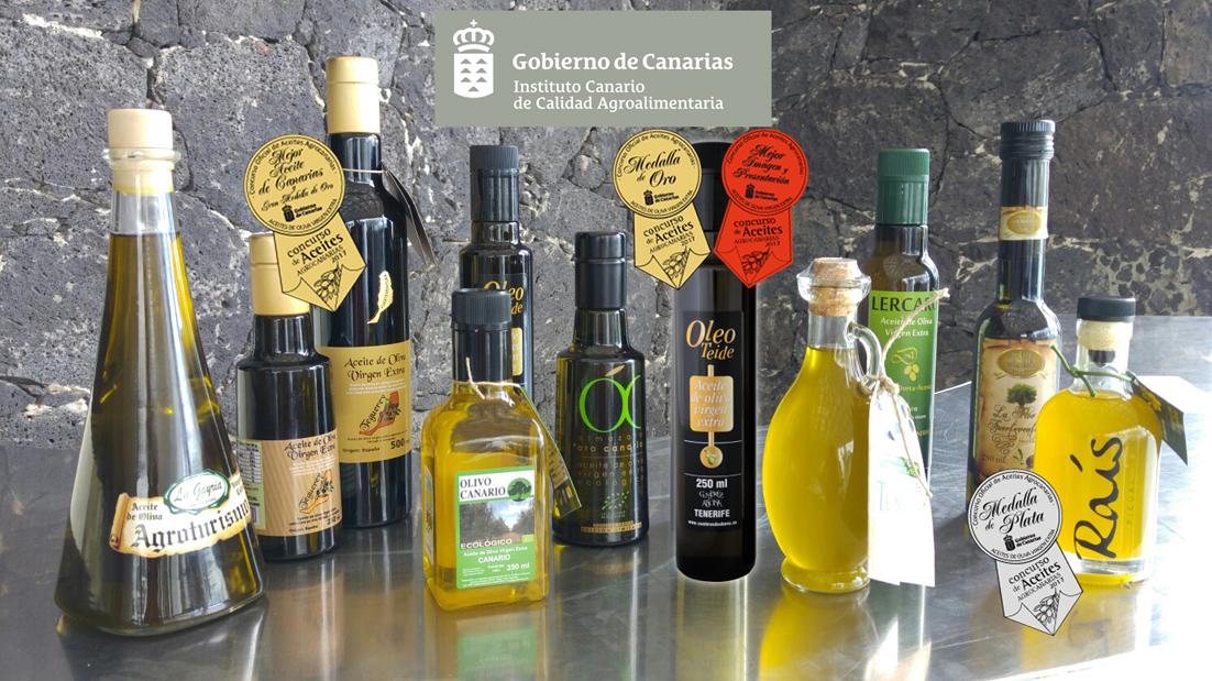 """Teguerey Arbequina/Picual"", Mejor Aceite de Oliva Virgen Extra de Canarias"