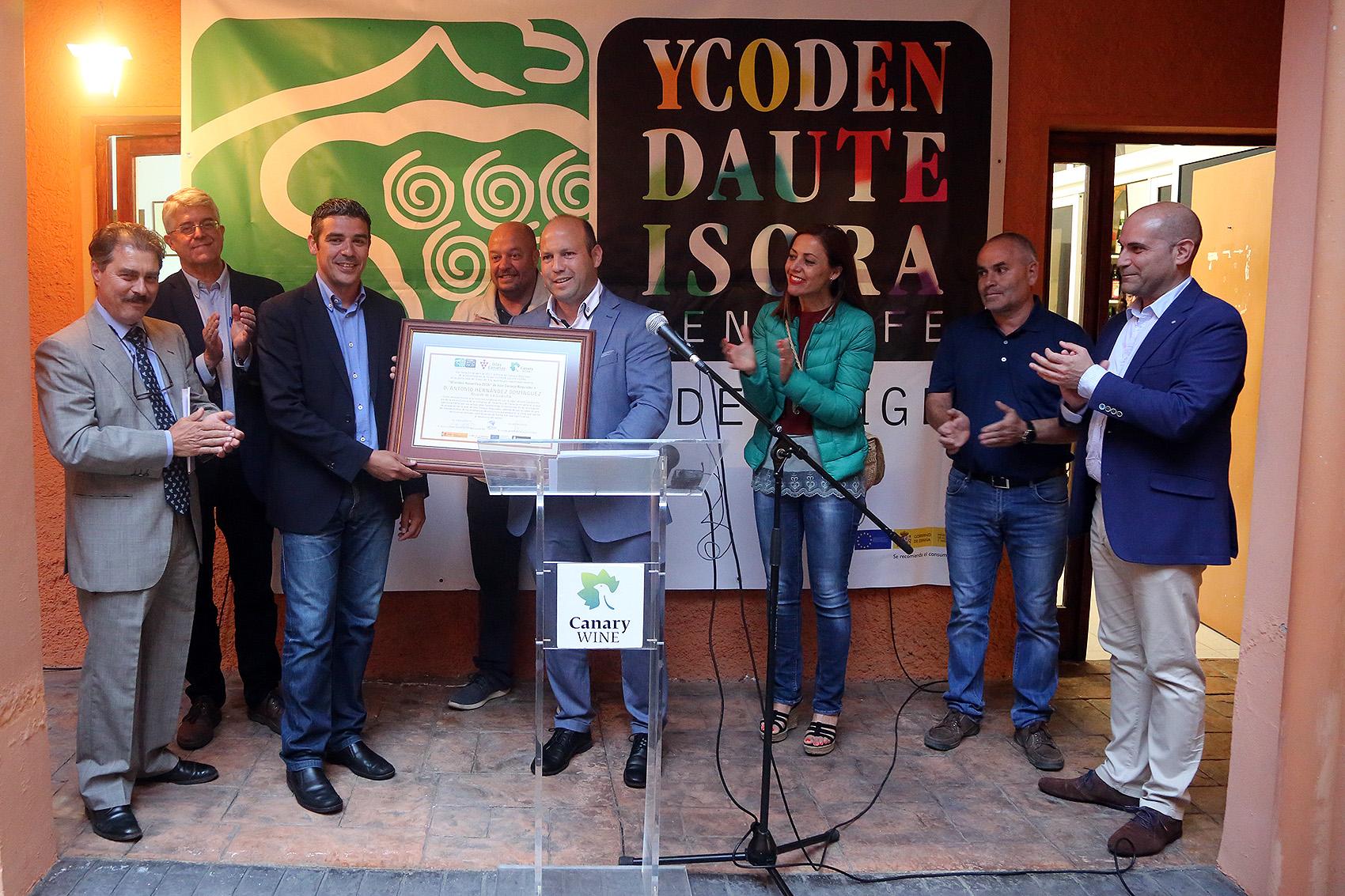 """Entrega del Premio Regional de """"Cartas de Vinos de Canarias"""""""