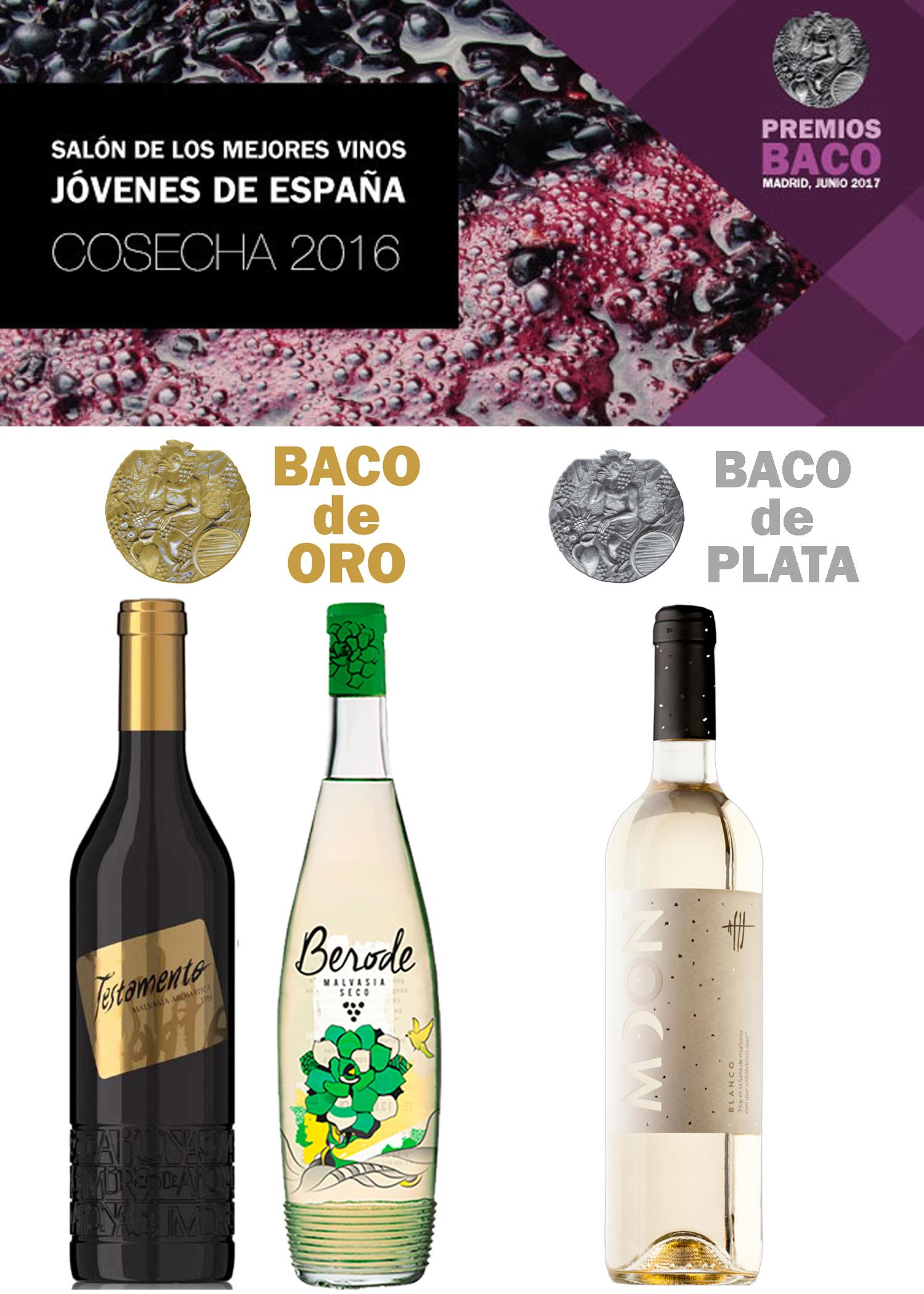 Premios BACO cosecha 2016