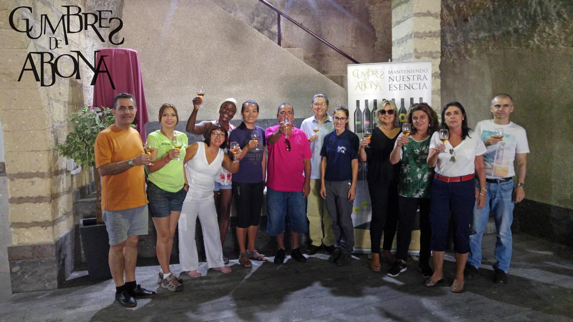 Cumbres de Abona, cursos de cata y visita