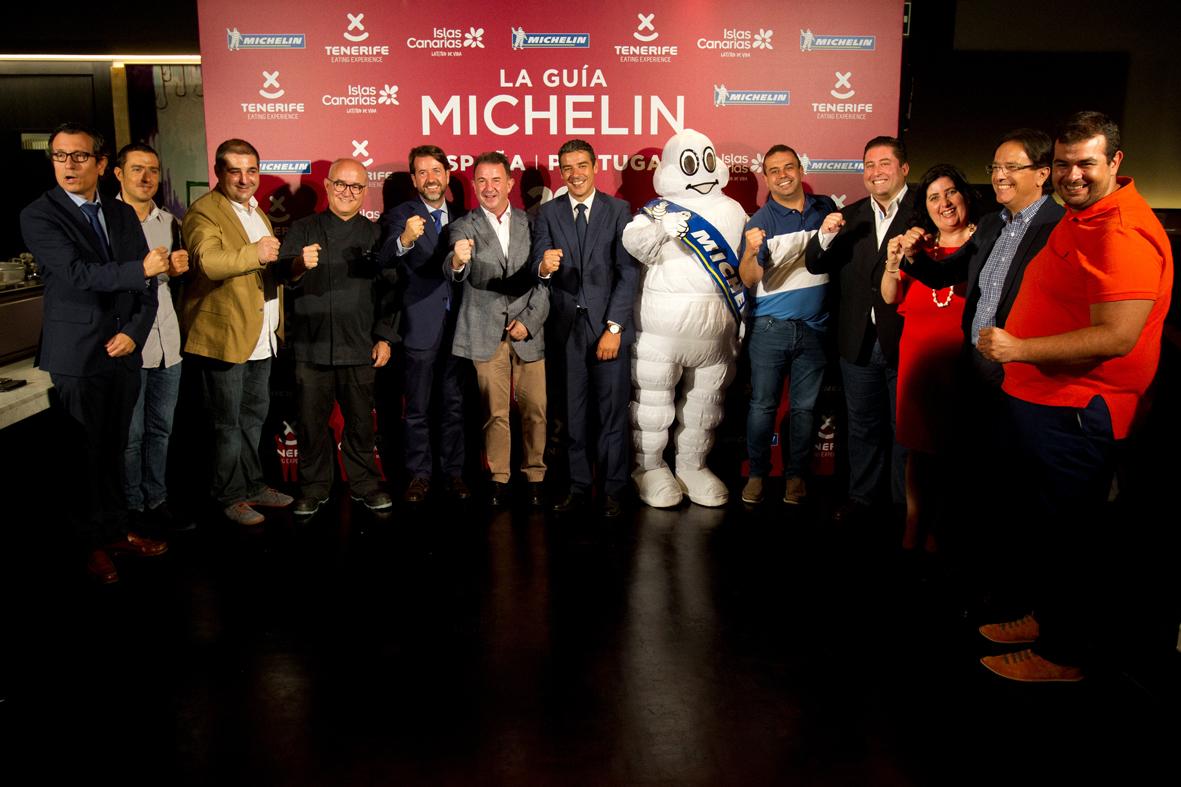 Tenerife acoge la Gala Michelin 2018