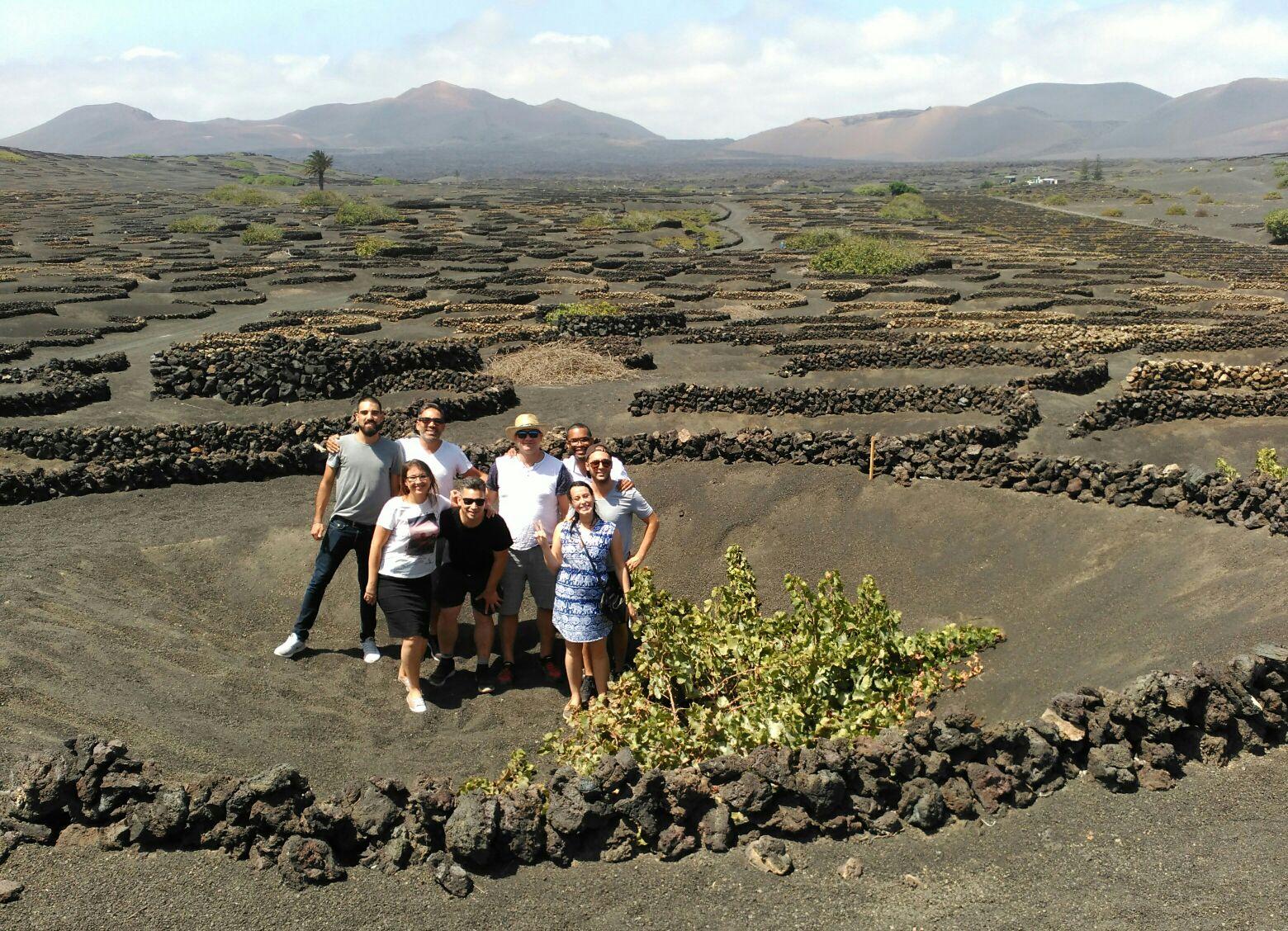 Cinco 'influencers' canadienses de visita en Lanzarote