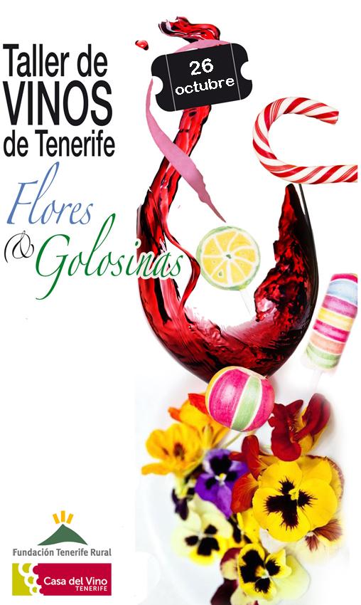 Cata de Vinos, Flores y Golosinas