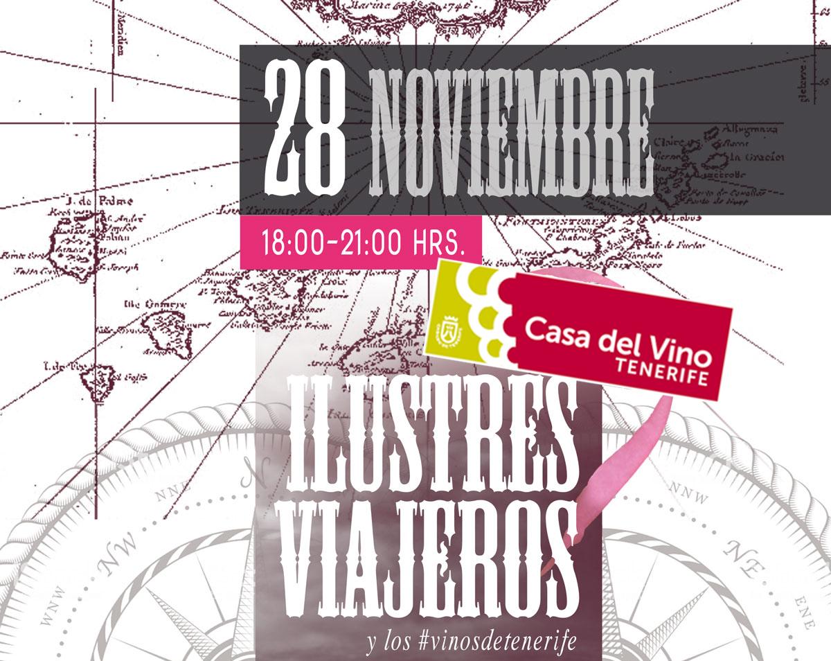 Ilustres Viajeros y los Vinos de Tenerife