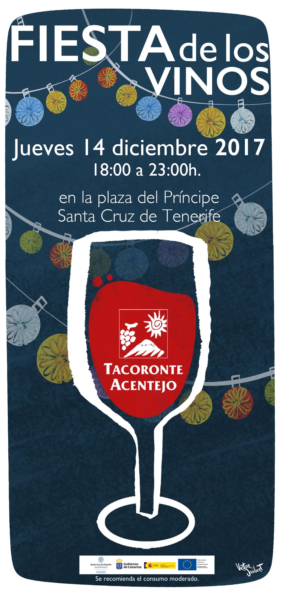 Fiesta de los vinos Tacoronte-Acentejo en Santa Cruz