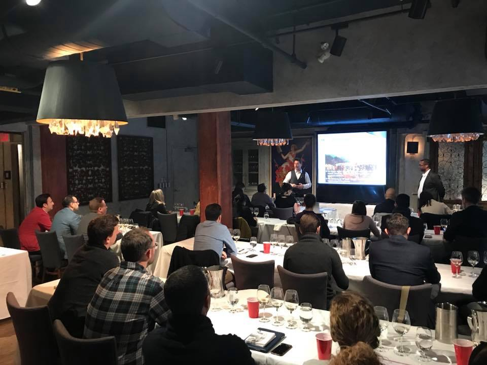 Master Class en Canadá sobre Canary Wine