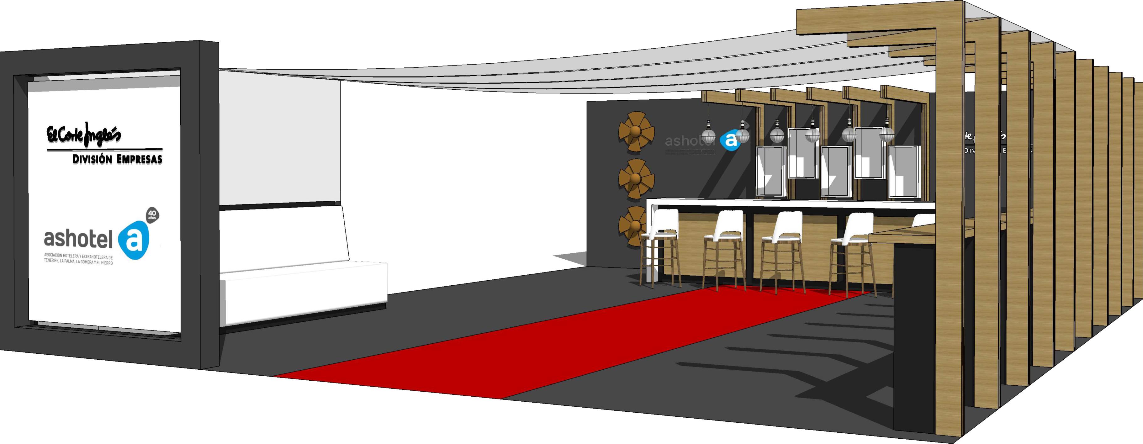 ASHOTEL recrea un restaurante de hotel