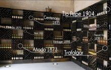 El botellero histórico de González Byass