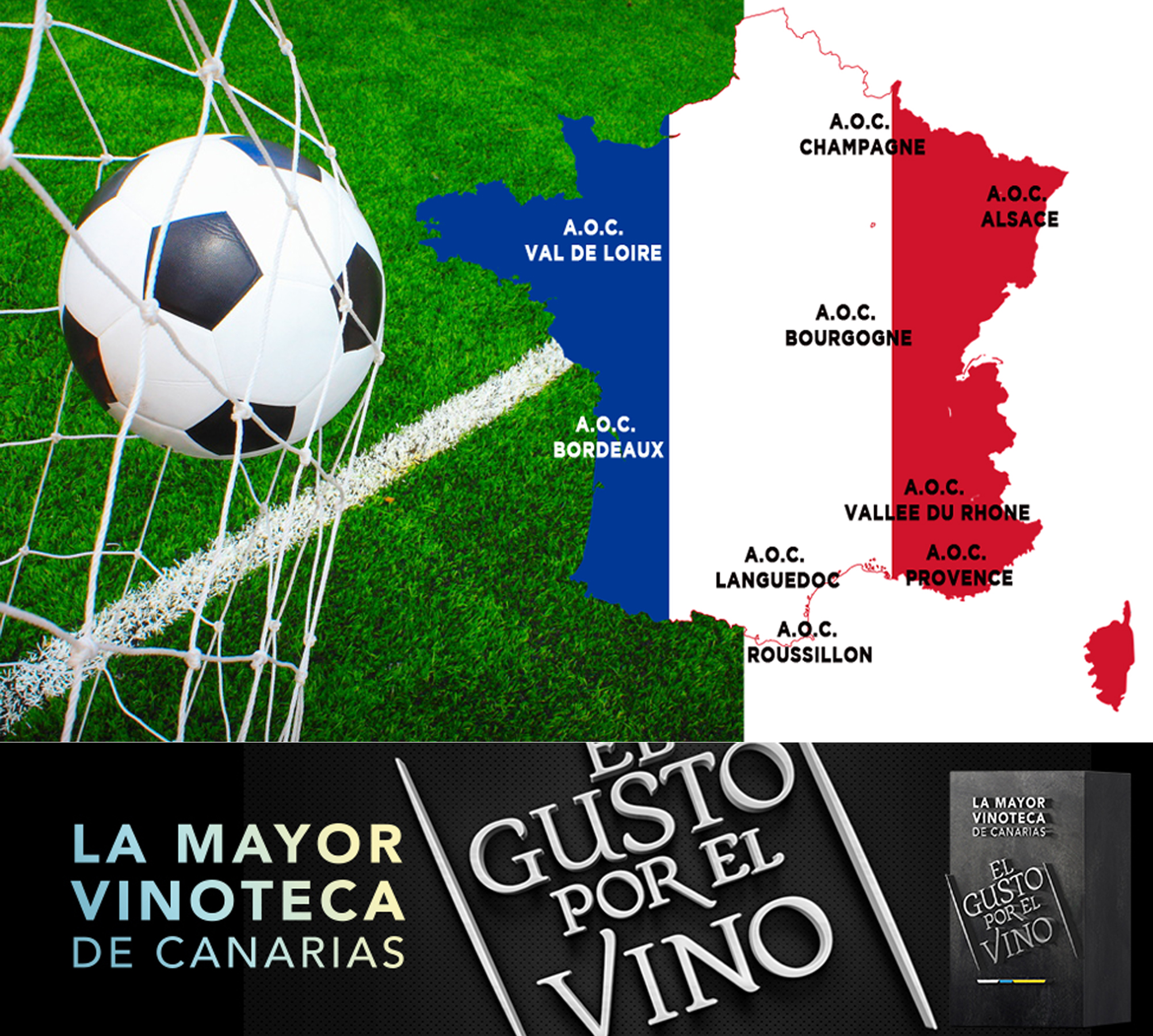 Final de la FIFA World en El Gusto por El Vino