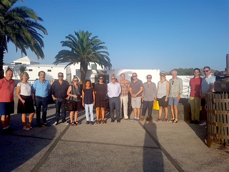 Los vinos de Lanzarote despiertan el interés de los importadores nórdicos.