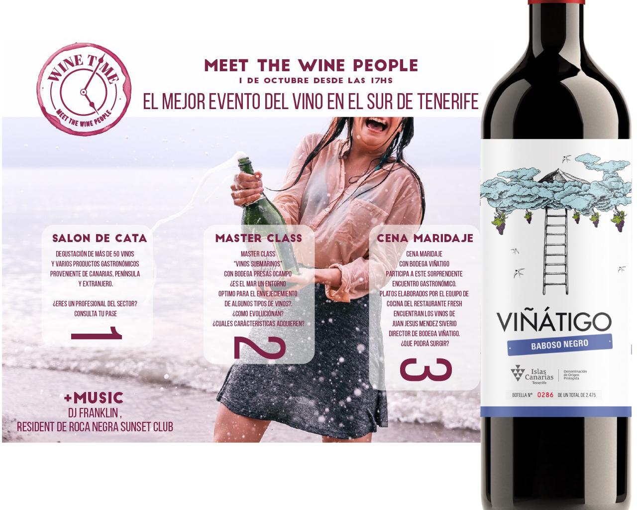 Wine Time, el el sur de Tenerife
