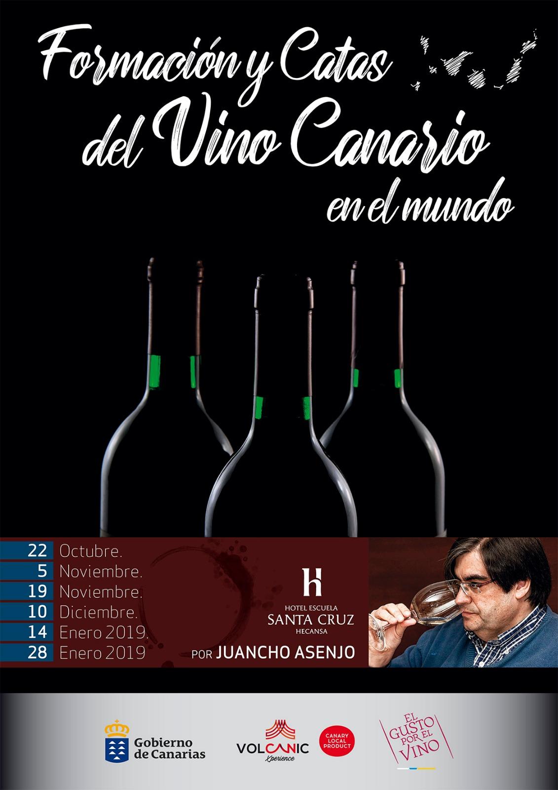 Formación y catas del Vino Canario en el mundo