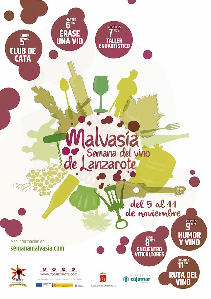 Llega una nueva edición de -Malvasía-, la semana del vino de Lanzarote.